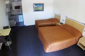 Disabled Room at cluBarham Motel