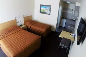 Queen & Single Room at cluBarham Motel