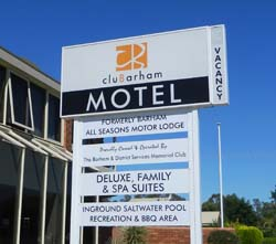 4 Star Accommodation - cluBarham Motel - Barham NSW